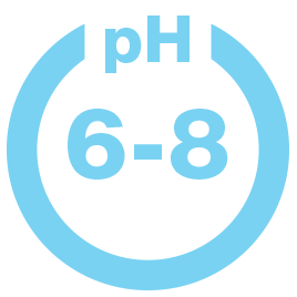 pH 6-8