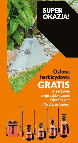 Ulotka promocyjna_osłona herbicydowa GRATIS
